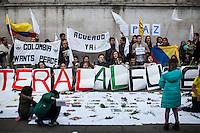 """12.10.2016 - """"3ra Marcha del Silencio - Londres"""" - Colombian Demonstration"""
