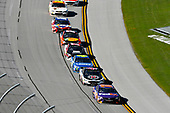 Monster Energy NASCAR Cup Series<br /> GEICO 500<br /> Talladega Superspeedway, Talladega, AL USA<br /> Sunday 7 May 2017<br /> Denny Hamlin, Joe Gibbs Racing, FedEx Express Toyota Camry<br /> World Copyright: Nigel Kinrade<br /> LAT Images<br /> ref: Digital Image 17TAL1nk06447