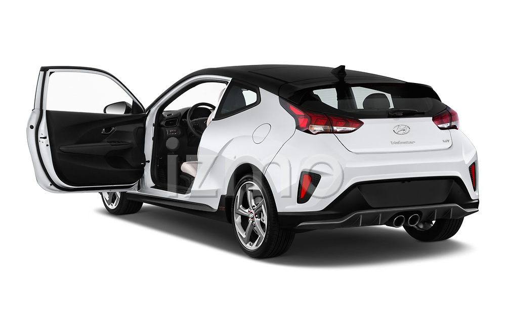 Car images close up view of a 2020 Hyundai Veloster Turbo Ultimate 5 Door Hatchback doors