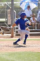 Alvaro Ramirez, Chicago Cubs minor league spring training..Photo by:  Bill Mitchell/Four Seam Images.