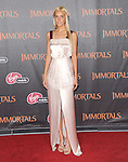 Isabel Lucas attends the Relativity World Premiere of Immortals held at The Nokia Theater Live in Los Angeles, California on November 07,2011                                                                               © 2011 DVS / Hollywood Press Agency