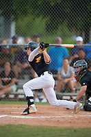 Clayton Hodges (14) during the WWBA World Championship at Terry Park on October 9, 2020 in Fort Myers, Florida.  Clayton Hodges, a resident of Jacksonville, Florida who attends Episcopal, is committed to Jacksonville.  (Mike Janes/Four Seam Images)