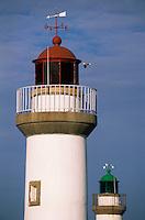 Europe/France/Bretagne/56/Morbihan/Belle-île/Le Palais: Les phares du port