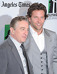 Robert De Niro and Bradley Cooper attends the 16th Annual Hollywood Film Awards Gala held at The Beverly Hilton in Beverly Hills, California on October 22,2012                                                                               © 2012 DVS / Hollywood Press Agency
