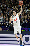 Real Madrid's Jaycee Carroll during Liga Endesa ACB match.March 29,2015. (ALTERPHOTOS/Acero)