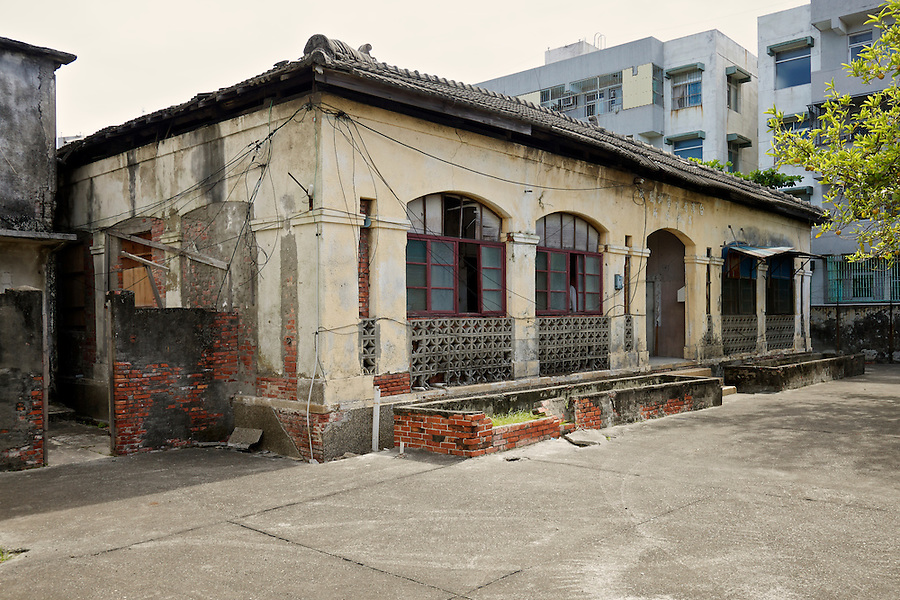 The Consular Office In Kaohsiung (Takow), Taiwan.  This And The Following Images Are From 2011, Shortly Before The Building Was Restored.  For More Information Please Visit David Oakley's Website: http://www.takaoclub.com