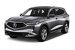 2022 Acura MDX - 5 Door SUV Angular Front automotive stock photos of front three quarter view