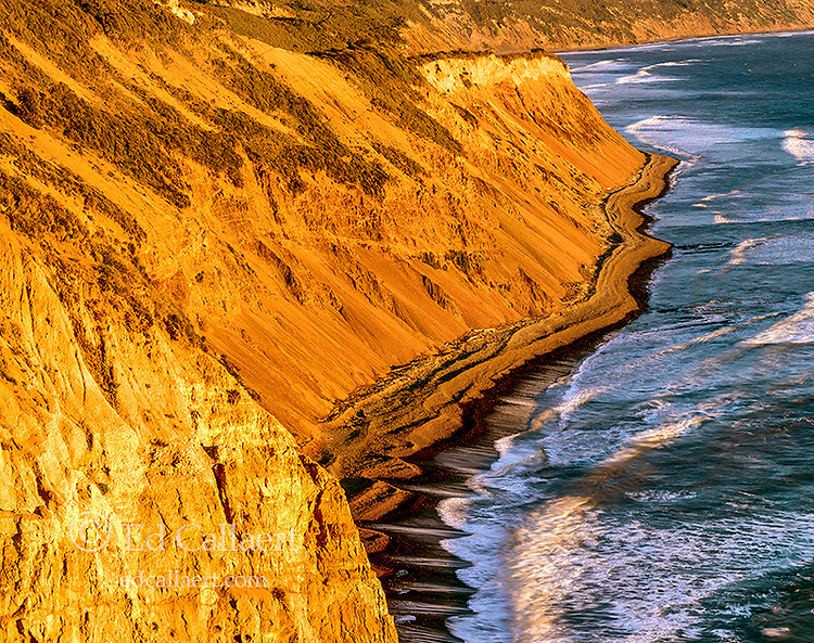 Cliffs, Palomarin Beach, Wildcat Beach Trail, Point Reyes National Seashore; California; Marin County California