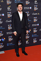 Marcus Mumford<br /> arriving for the BT Sport Industry Awards 2018 at the Battersea Evolution, London<br /> <br /> ©Ash Knotek  D3399  26/04/2018