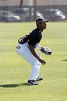Orlando Sandoval - Colorado Rockies - 2009 spring training.Photo by:  Bill Mitchell/Four Seam Images