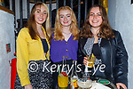 Enjoying the evening in Sean Og's on Friday, l to r: Erica O'Sullivan, Roisin O'Connell and Aine O'Sullivan.