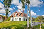 The Captain Edward Penniman house, Cape Cod National Seashore, Eastham, MA, USA