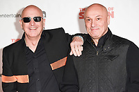 """Right Said Fred<br /> arriving for the premiere of """"The Death of Stalin"""" at the Curzon Chelsea, London<br /> <br /> <br /> ©Ash Knotek  D3338  17/10/2017"""