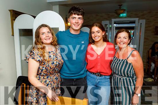 Sinead and Sean Arthurs, Megan O'shea and Elizabeth Arthurs enjoying the evening in Bella Bia on Thursday.