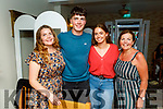 Sinead and Sean Arthurs, Megan O'shea and Elizabeth Arthurs enjoying the evening in Bella Bia on Thursday.