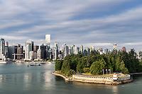 Waterfront Park. North Vancouver, British Columbia, Canada.