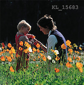 Interlitho, CHILDREN, photos, mother, child, flowers(KL15683,#K#) Kinder, niños