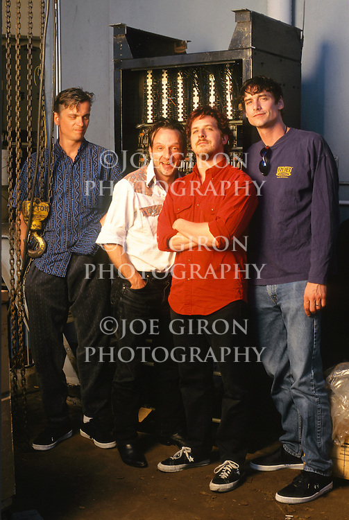 Various portrait sessions of the rock band, The Jesus Lizard.