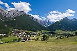 Austria, Tyrol, Stubai Valley, Community Neustift, district Kampl and Stubai Alps
