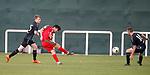 11.01.2020 Rangers v Lokomotiv Tashkent, Sevens Stadium, Dubai:<br /> Abdullaziz Yusupov scores for Tashkent