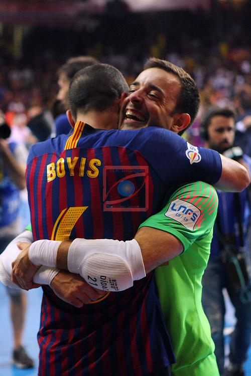 League LNFS 2018/2019.<br /> Play Off. Game: 5.<br /> FC Barcelona Lassa vs El Pozo Murcia: 3-2.<br /> Boyis & Didac.