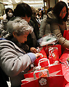 Japan New Year shopping craze in Tokyo