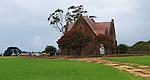 Watching the flock - Historic Church Near Branxholme Victoria