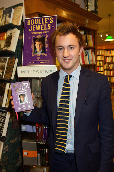 Francis Boulle at the launch of his book 'Boulle's Jewels'