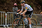 Irish Champion Sam Bennett (IRL) Deceuninck-Quick Step climbs the Col de Peyresourde in front during Stage 8 of Tour de France 2020, running 141km from Cazeres-sur-Garonne to Loudenvielle, France. 5th September 2020. <br /> Picture: Colin Flockton | Cyclefile<br /> All photos usage must carry mandatory copyright credit (© Cyclefile | Colin Flockton)