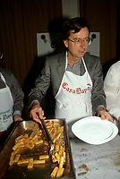 Montreal (QC)CANADA - Dec 1987 File Photo<br /> <br /> Liberal Provincial Leader Robert Bourassa at Sun Youth Benefit