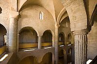 Italien, Umbrien, romanische Kirche Sant'Eufemia in Spoleto aus dem 12.Jh.