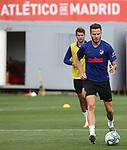 Atletico de Madrid's Saul Niguez during training session. July 14,2020.(ALTERPHOTOS/Atletico de Madrid/Pool)