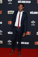 UNIVERSAL CITY, CA, USA - OCTOBER 02: Tyler James Williams arrives at the Los Angeles Premiere Of AMC's 'The Walking Dead' Season 5 held at AMC Universal City Walk on October 2, 2014 in Universal City, California, United States. (Photo by David Acosta/Celebrity Monitor)