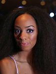 """Christiani Pitts attends the Broadway Opening Night After Party for """"King Kong - Alive On Broadway"""" at Cucina & Co. on November 8, 2018 in New York City."""