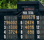 July 11, 2020: The tote board shows the negative  Show Pool for Dunbar Road #2, ridden by Irad Ortiz, Jr., before the Delaware Handicap on Delaware Handicap Day at Delaware Park in New Stanton, Delaware. Scott Serio/Eclipse Sportswire/CSM