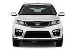 Straight front view of a 2013 KIA Sorento SX