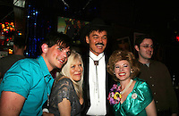 One Life To Live's Ilene Kristen joins Dan Gershaw, Randy Jones (original Cowboy Village People) and Tina McKissick who are all in When Joey Married Bobby at the Roy Arias Theater Denter as they appear on April 28, 2010 at Will Clark's P*rno Bingo at Pieces, New York City, New York to benefit the American Foundation for Suicide Prevention - an event presented by We Love Soaps (Damon Jacobs and Roger Newcomb). (Photos by Sue Coflin/Max Photos)