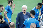 American actor Richard Gere with Real Madrid's players during Champions League 2015/2016 training session. May 27,2016. (ALTERPHOTOS/Acero)