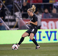 Katie Hoyle. The USWNT tied New Zealand, 1-1, at an international friendly at Crew Stadium in Columbus, OH.