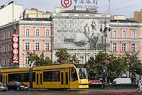 Kreuzung Oktogon auf der Andrássy út, Budapest, Ungarn, UNESCO-Weltkulturerbe