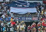 Hong Kong vs Chile during the Cathay Pacific / HSBC Hong Kong Sevens at the Hong Kong Stadium on 29 March 2014 in Hong Kong, China. Photo by Victor Fraile / Power Sport Images