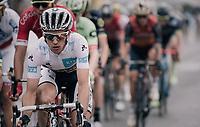 white jersey / best young rider Simon Yates (GBR/Orica-Scott) racing on the Champs-Elysées<br /> <br /> 104th Tour de France 2017<br /> Stage 21 - Montgeron › Paris (105km)