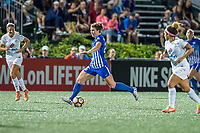 Boston, MA - Friday August 04, 2017: Morgan Andrews during a regular season National Women's Soccer League (NWSL) match between the Boston Breakers and FC Kansas City at Jordan Field.