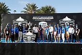 Champion #9 Scott Dixon, Chip Ganassi Racing Honda and NTT guests