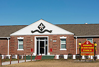 6th Marine Regiment Headquarters, Marine Corps Base Camp Lejeune, North Carolina, USA