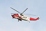 Coast Guard Helicopter bring Casuality to Drogheda
