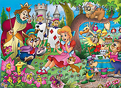 Alfredo, CUTE ANIMALS, puzzle, paintings(BRTO27266,#AC#) illustrations, pinturas, rompe cabeza