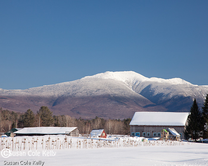 Mount LaFayette in the White Mountain National Forest, NH, USA