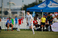 Frisco, Texas - Thursday, July 26, 2018: 2018 US Youth Soccer National Championships.United SA Mount Pleasant 03 Premier vs OK Energy FC Central 03