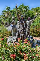 "Charlotte Amalie, St. Thomas, U.S. Virgin Islands.  Monument to the Three Women who Led the 1878 ""Fireburn"" Uprising."